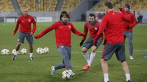 athletic entrenamiento ucrania