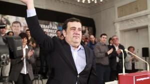 Ernesto Gasco, candidato del PSE-EE a alcalde de Donostia San Sebastian, PSE-EEren Donostiako alkategaia. EFE