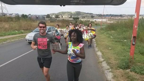 Korrika 2015, Hegoafrika, Sudafrica, Soweto