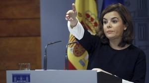 Soraya Saez de Santamaria EFE