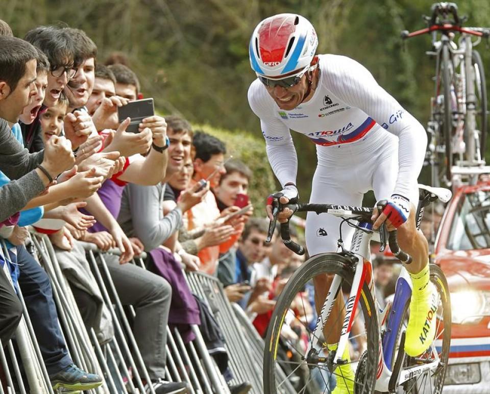 Purito Rodríguez gana la Itzulia. Foto: EFE