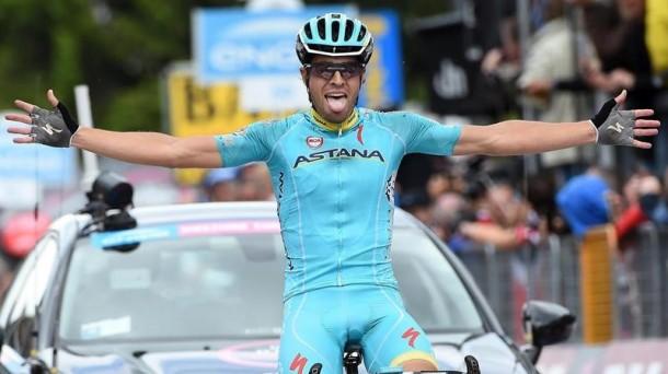 Mikel Landa, en el Giro de 2015. EFE