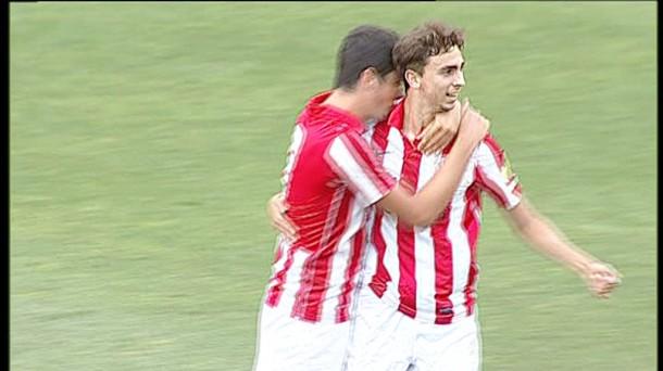 Goles: UCAM Murcia – Bilbao Athletic 1-1