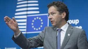 Jeroen Dijsselbloem Eurotaldeko presidentea efe