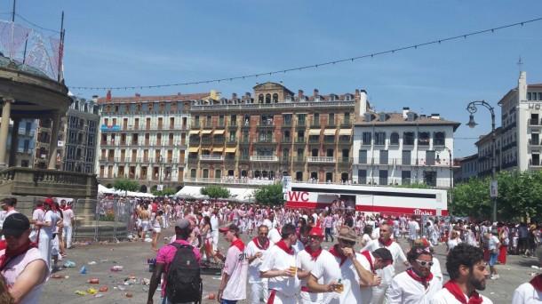 Txupinazo en Pamplona, EITB