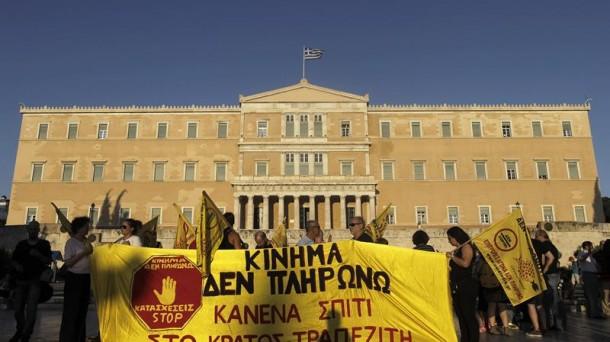 Protestak Atenasen Grezia efe
