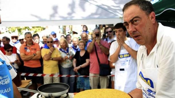 Campeonato de tortilla de patata. Foto: EFE