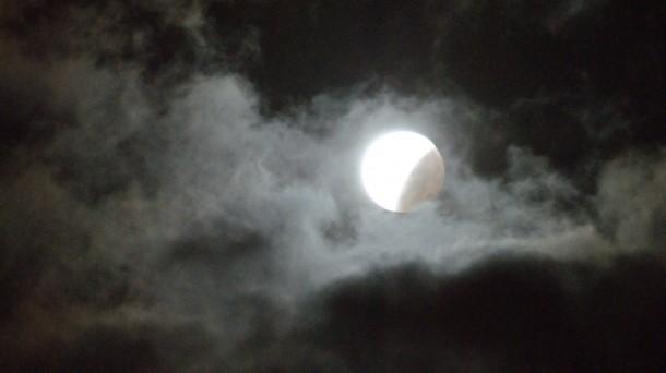 Ilargi eklipsea  (Argazkia: Alberto Zorrilla)