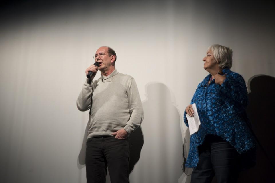 Presentación a cargo de Pedro Espinosa y Jeni Prieto, redactores-locutores de Radio Vitoria
