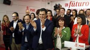 Pedro Sanchez hauteskunde gaua efe