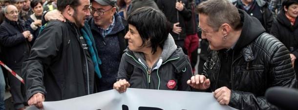 manifestación Bilbao Baiona manifestazioa 03