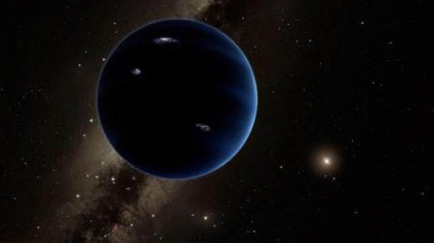 Reproducción artística del Planet 9. Infografía: Caltech/R. Hurt (IPAC)
