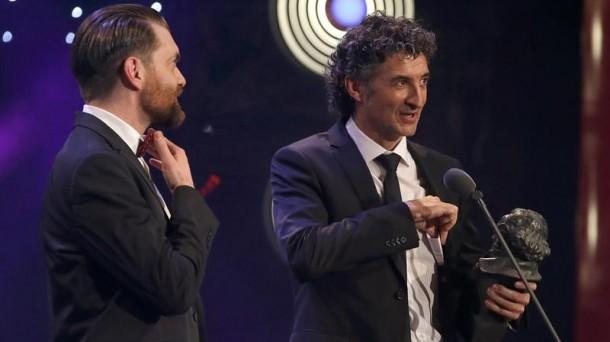 Premios Goya 2016, Goya sariak 2016, Hijos de la Tierra, Axel O'Mill Tubau,  Patxi Uriz EFE