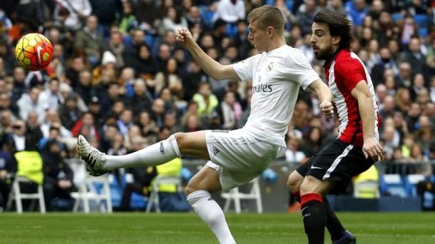 Kroos y Beñat, durante el Real Madrid-Athletic de la pasada temporada. Foto: EFE