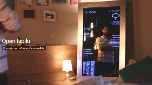 El espejo que te mantiene actualizado mientras te miras: Open Ispilu-http://www.eitb.eus/multimedia/images/2016/03/14/1897496/open-ispilu_foto610x342.jpg