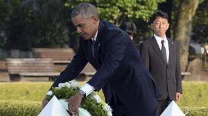 Obama, en Hiroshima: 'El mundo cambió con la bomba atómica'