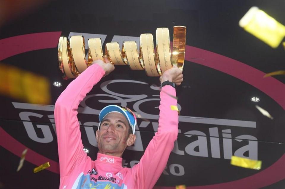Giro de Italia 21ª etapa. Foto: Efe.