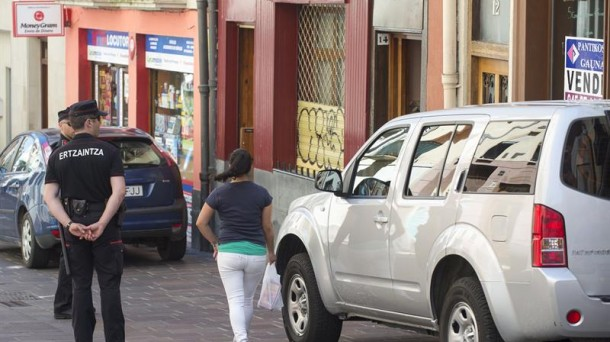 Crimen Vitoria Hilketa Gasteiz mujer descuartizada Zadorra registro miaketa. EFE