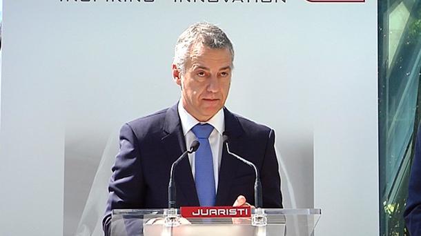 Iñigo Urkullu lehendakaria. Argazkia: EiTB