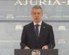 Urkullu puede cambiar la fecha electoral por la incertidumbre estatal