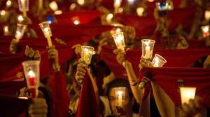 POBRE DE MI 2016 - FIN de FIESTAS de SAN FERMIN en PAMPLONA