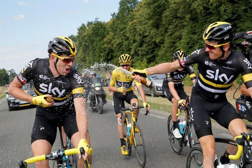 Frantziako Tourra, 21. etapa. Argazkia: Efe.