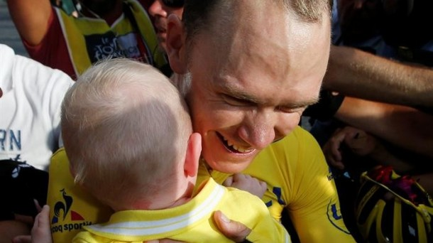 Tour de Francia, 21ª etapa. Foto: Efe.