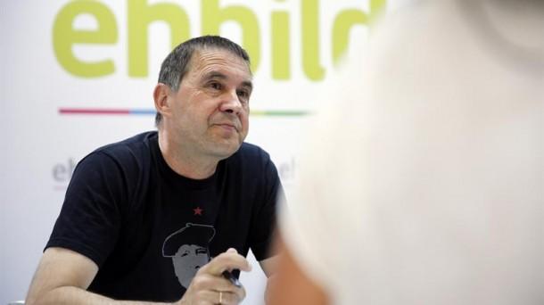 Arnaldo Otegi. EFE