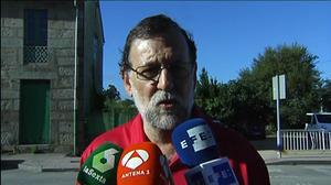 Rajoy: 'La formación de gobierno hoy es más un deseo que un hecho'