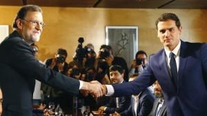 Rajoy y Rivera sellan un acuerdo de 150 medidas para la investidura