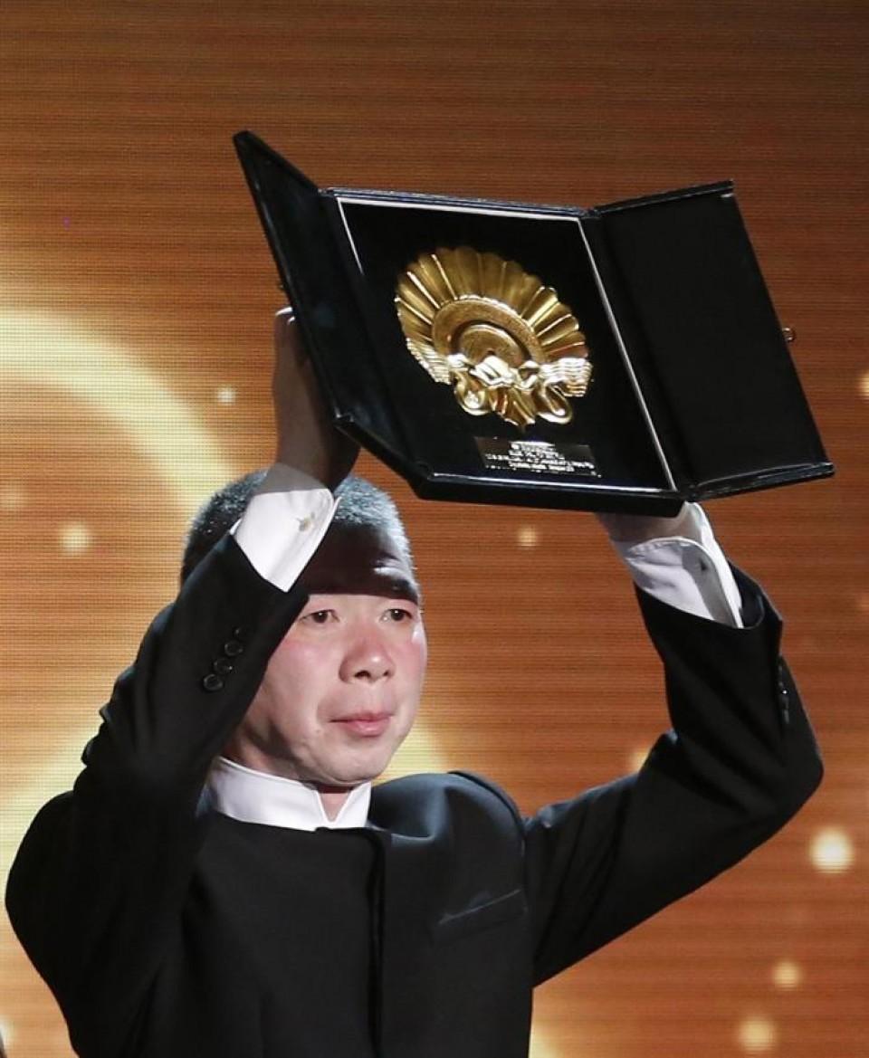 Xiaigang Feng, pelikula irabazlearen zuzendaria. Argazkia: EFE.