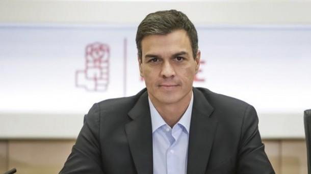 Pedro Sánchez, secretario general del PSOE. Foto: EFE