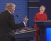 Clinton y Trump tensan un debate lleno de ataques y reproches