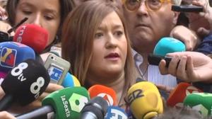 La presidenta del Comité Federal del PSOE: 'La única autoridad soy yo'