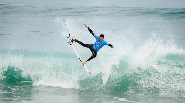 21 OCTUBRE | Matt Banting en el Moche Rip Curl Pro Portugal de la Liga Mundial de Surf (WSL)