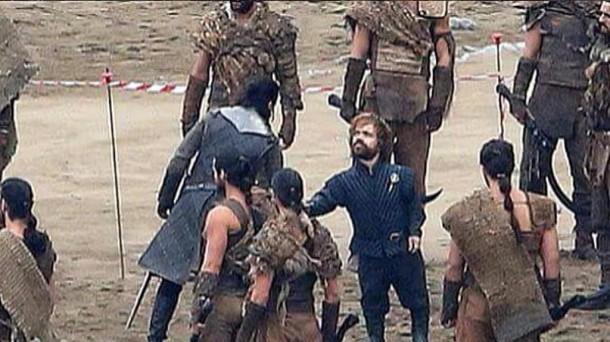 Kit Harington (Jon Nieve) y Peter Dinklage (Tyrion Lannister). EiTB