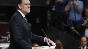 Rajoy: 'Espainian Gobernu sendoa eta iraunkorra osatzeko nago hemen'