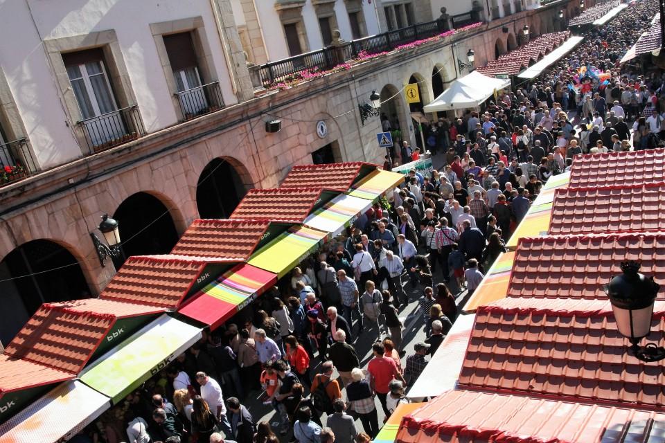 Último lunes de octubre, en Gernika. Foto: Ayuntamiento de Gernika.