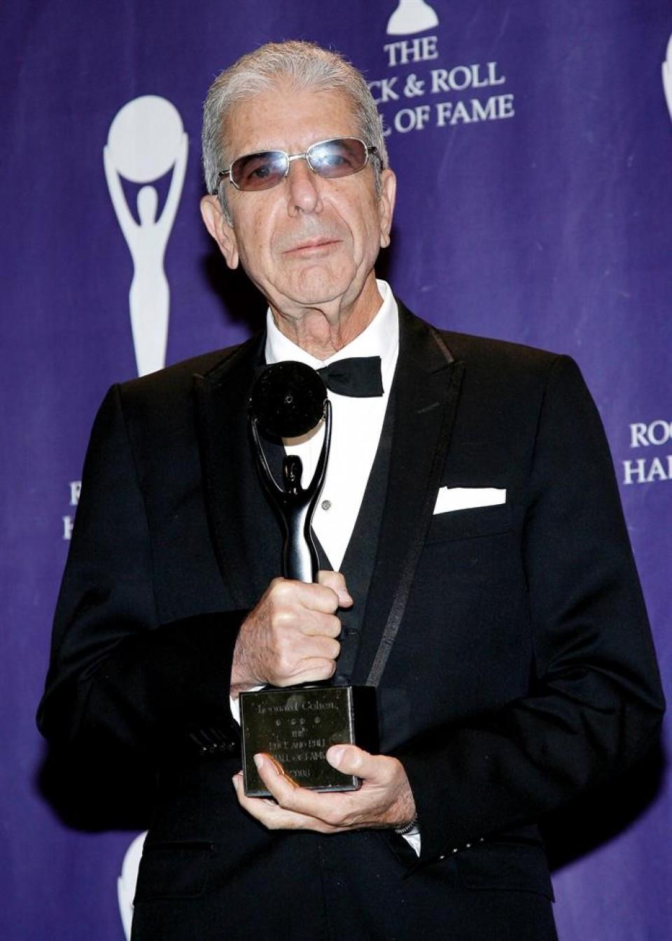 Leonard Cohen. Argazkia: EFE