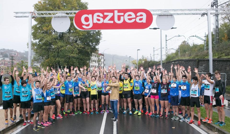 'Behobia Gaztea' 2016, carrera disputada este domingo 13 de noviembre de 2016. (Fotos: Gaztea)