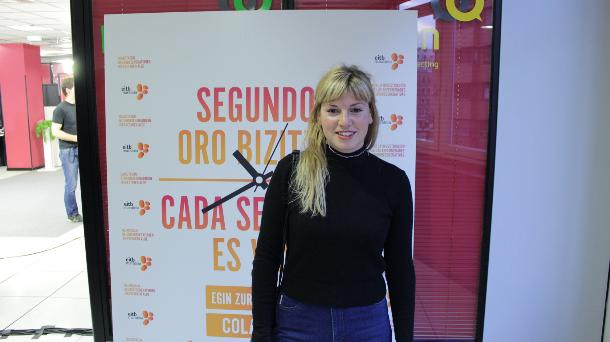 Cristina Lizarraga. Foto: EiTB.