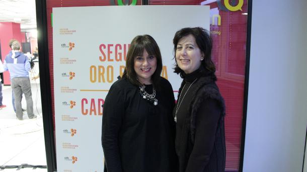 Susana Cuesta y Paula Casas. Foto: EITB.
