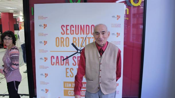 Saturnino García. Foto: EiTB