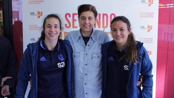 Leyre Fernandez, Nekane Soria y Nuria Sánchez. Foto: EiTB.