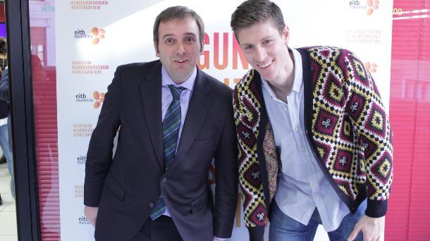 Edu Garate y Sergio Sánchez. Foto: EiTB.