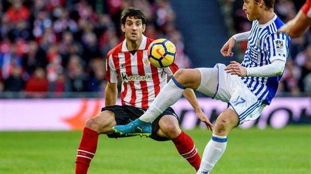 Athletic Club 0 - Real Sociedad 0 / EFE.
