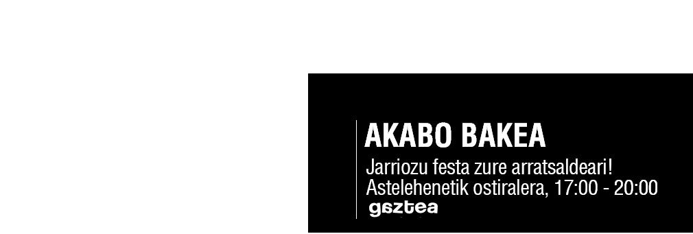 Akabo bakea!