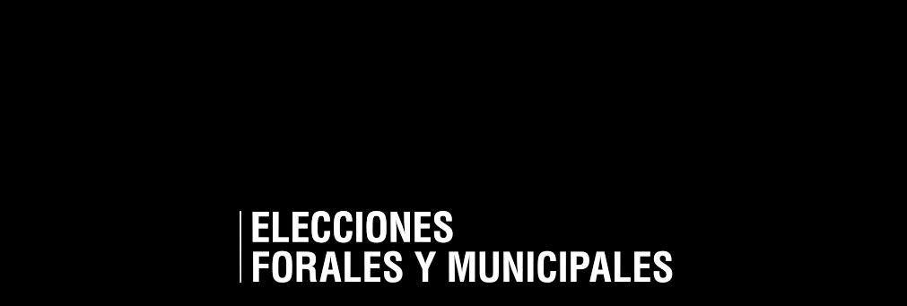 Elecciones Forales y Municipales