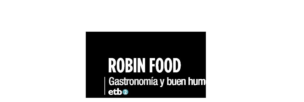 Robin Food. Gastronomía y buen humor, con David de Jorge