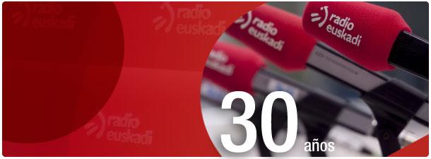 Radio Euskadi 30 aniversario